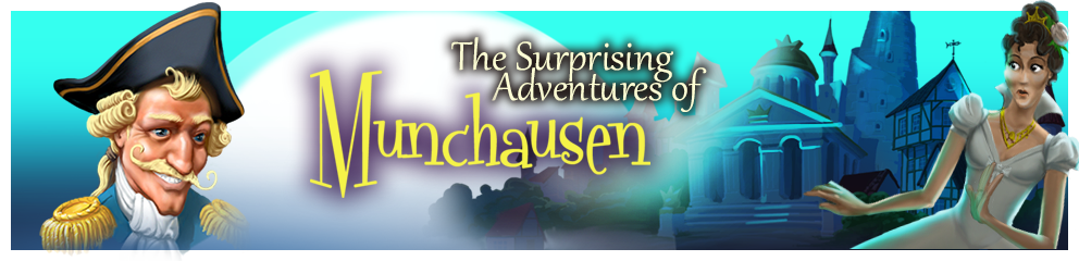 The Surprising Adventures of Munchausen Header Image