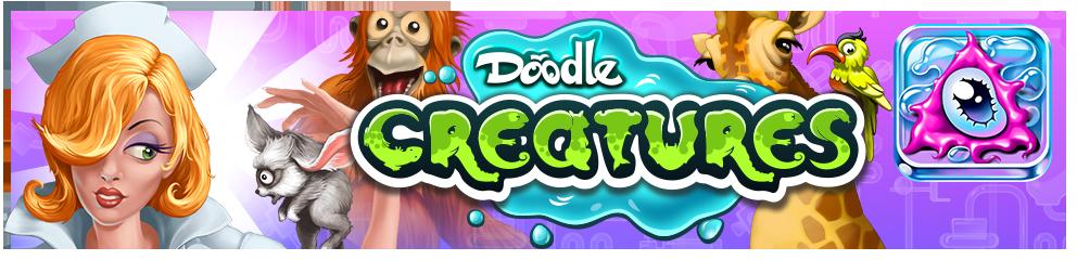 Doodle Creatures Header Image